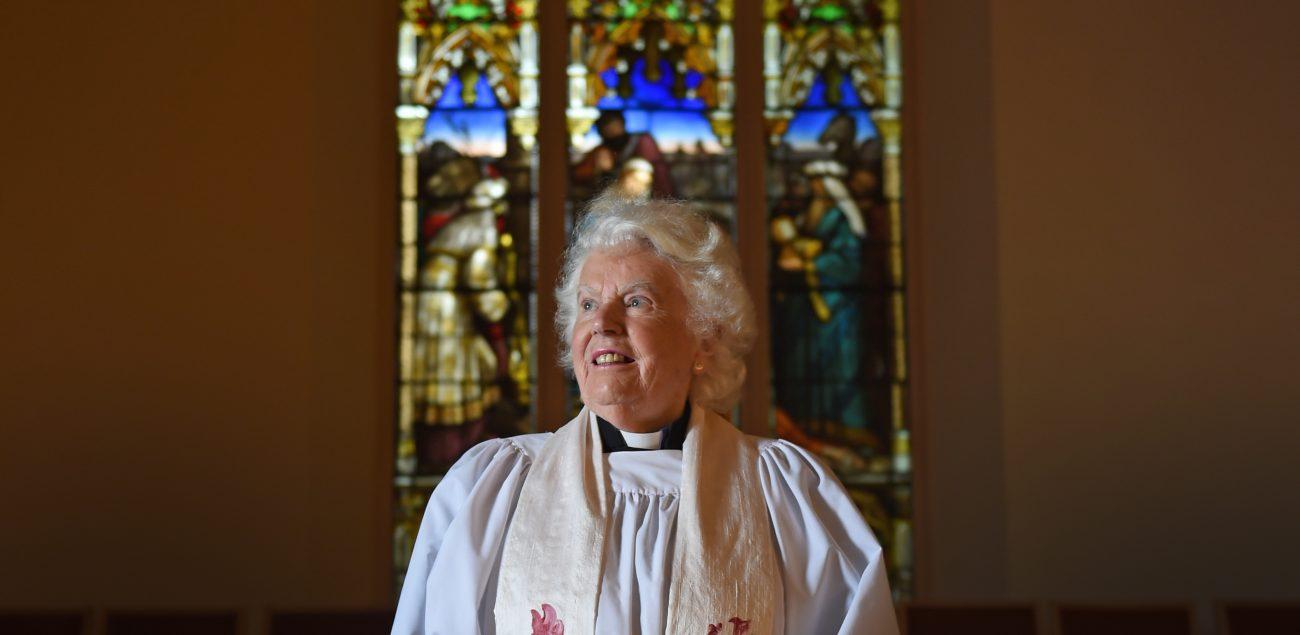 Margaret looking ahead.
